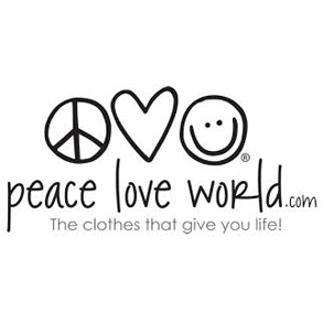 Peace Love World LogoSquare